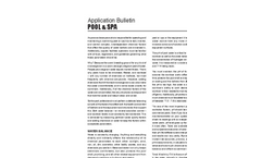 Pool & SPA - Application Bulletin