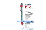 Myron L - Model ULTRAPEN PT2 - pH & Temperature Pen - Operationl Manual