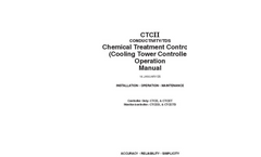 CTCII - - Conductivity/TDS Chemical Treatment Controller / Cooling Tower Controller Operation Manual