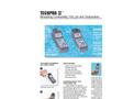 Myron L - Model TechPro II - TP1, TPH1 - Measuring Conductivity, TDS, pH and Temperature - Datasheet