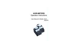 Myron L - Agri-Meters - Analog Handhelds Measuring EC And pH - Operation Manual