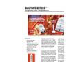 Myron L - Dialysate Meters - Single And Dual Range Meters - Datasheet