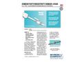 Conductivity/Resistivity Sensor#CS40 for 750ii Conductivity/Resistivity Monitor/Controllers - Brochure