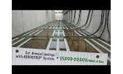 AEROSTRIP Fine Bubble Diffuser System Introduction - Video
