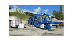 Flexus - Model Typhoon - Biomass and Wood chip Baling and Wrapping System