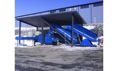 Flexus - Model Breeze - Integrated MSW Baling and Wrapping System