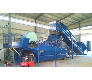 Flexus - Model Breeze Mini - Integrated MSW Baling and Wrapping System