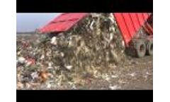 Flexus Round Baling System - Round Baling of Waste Materials and Recyclables Video