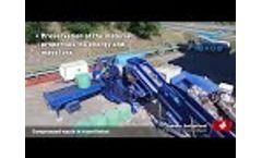Flexus Balasystem - Compressed Waste in Round Bales Video