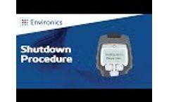 ChemPro100i Shutdown Procedure Video