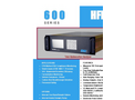 CAI 600 Series HFID Hydrocarbon Analyzer Specification Sheet