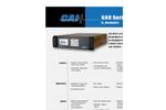 Model 600P - Oxygen Analyzers Brochure