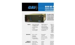 Model 600 SC FTIR - Fourier Transform Infrared Analyzer Brochure