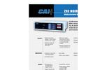 Model ZRE NDIR/O2 - NDIR/Oxygen Analyzer Brochure