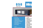 650 Series CLD/Paramagnetic Analyzer Specification Sheets (PDF 606 KB)