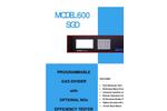 Model 600 SGD - Gas Divider Specification Sheets (PDF 56 KB)