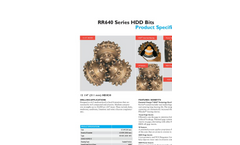 Horizontal Direction Drilling (HDD) bits - HDX30_12.25 Brochure