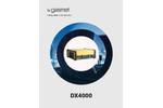 Gasmet - Model DX4000 - Portable FTIR Gas Analyzer - Technical Datasheet