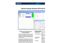 Calcmet - Version Professional (STD and PRO) - Analysis and Control Software for FTIR Gas Analyzers - Brochure