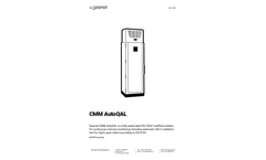 Gasmet - Model CMM AutoQAL - Continuous Mercury Monitoring System - Brochure