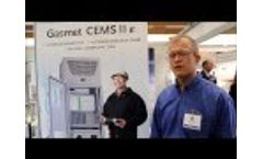 Gasmet Introduces its New CEMS II E Video