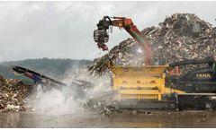 TANA Shark shreds enormous waste mountain – Recycling Magazine Benelux 5/2021
