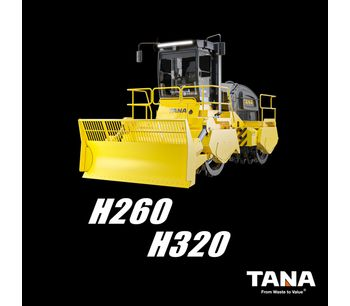 New TANA H260 & H320 with Tier 3/EU Stage IIIA engine available now!