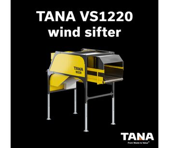 Tana Wind Sifter for High Quality Separation