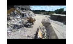 Shredding Municipal Waste to 50mm Particle Size With One Pass Video