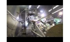 TANA Shark Waste Shredder Processing MSW (Municipal Solid Waste) to 50mm (2 Inch Particle Sizes (RDF) Video