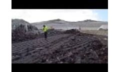 Landfill Compactor Comparison: TANA vs. Bomag Pushing Power and Operating Sludge Video