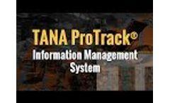 TANA ProTrack® - Revolutionary Information Management System for Waste Management Video