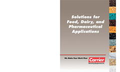 Solutions for Food, Dairy & Pharmaceutical Industries Brochure