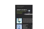 Geno - Model UV-200 S - UV System Brochure