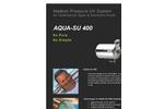 Aqua - Model SU 400 - Medium Pressure UV System - Brochure