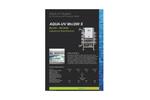 Aqua - Model UV Mn/200 S - UV System Brochure