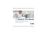 1st Global IC User Meeting - Brochure