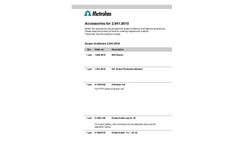 Accessories Datasheet