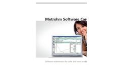 Metrohm Software Care Brochure