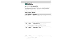 Metrohm - 2.940.1340 - 940 Professional IC Vario ONE ChS PP HPG - Brochure