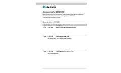 Metrohm - 2.942.1060 - 942 Extension Module Vario ONE/Deg - Brochure