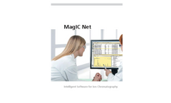 Metrohm MagIC Net - Intelligent Software for Ion Chromatography - Brochure