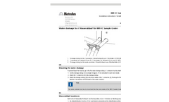 Metrohm - Model 889 - IC Sample Center - Brochure