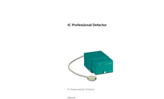 Metrohm - IC Professional Detector - Brochure