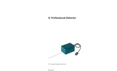 Metrohm- IC Professional Detector - Brochure