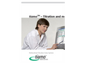 Tiamo - Networked Titration Data System - Brochure