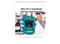 Metrohm - Model Mira M-3 - Handheld Raman Spectrometer for Advanced Package