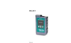 Mira M-1 Basic Package - Manual