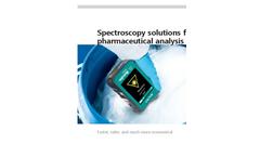 Spectroscopy Solutions for Pharmaceutical Analysis - Brochure