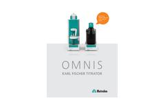 OMNIS Karl Fischer Titrator – Brochure